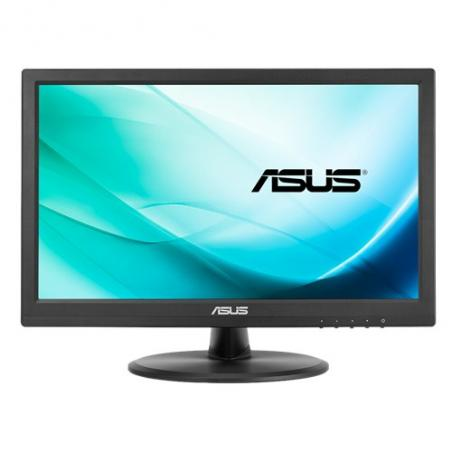 """ASUS VT168N point touch monitor 39,6 cm (15.6"""") 1366 x 768 Pixeles Negro Multi-touch - Imagen 1"""