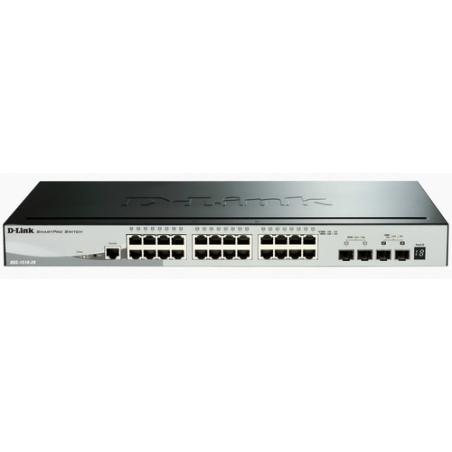 D-Link DGS-1510 Gestionado L3 Gigabit Ethernet (10/100/1000) Negro - Imagen 1