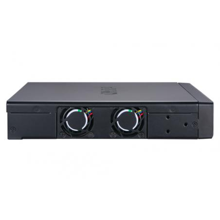 QNAP QSW-M1208-8C switch Gestionado 10G Ethernet (100/1000/10000) Negro - Imagen 3