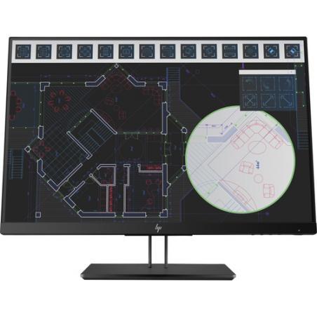 "HP Pantalla Z24i G2 de 24 pulgadas 61 cm (24"") 1920 x 1200 Pixeles WUXGA LED Negro - Imagen 1"