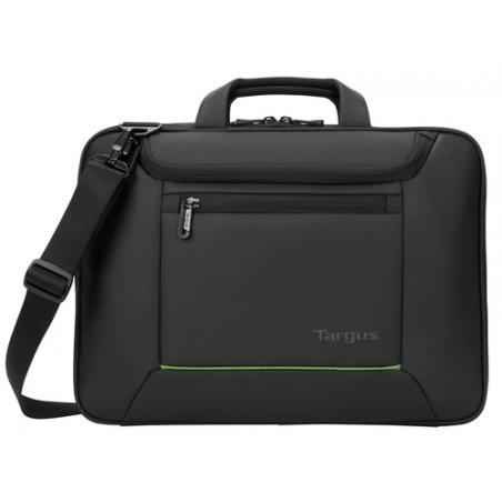"Targus Balance Ecosmart 14"" maletines para portátil 35,6 cm (14"") Maletín Negro - Imagen 1"