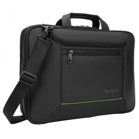 "Targus Balance Ecosmart 14"" maletines para portátil 35,6 cm (14"") Maletín Negro - Imagen 2"