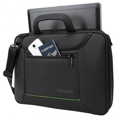 "Targus Balance Ecosmart 14"" maletines para portátil 35,6 cm (14"") Maletín Negro - Imagen 5"