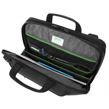 "Targus Balance Ecosmart 14"" maletines para portátil 35,6 cm (14"") Maletín Negro - Imagen 6"