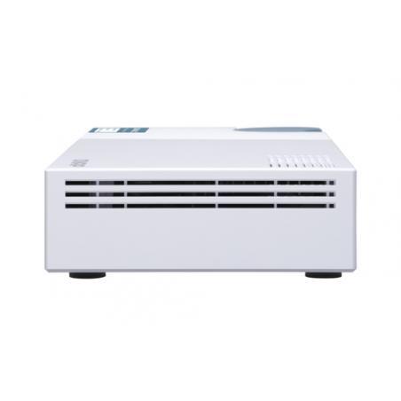 QNAP QSW-M408-2C switch Gestionado L2 10G Ethernet (100/1000/10000) Blanco - Imagen 7