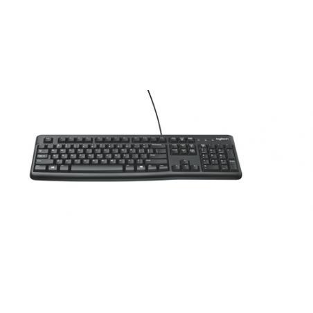 Logitech Keyboard K120 for Business teclado USB QWERTY Internacional de EE.UU. Negro - Imagen 9