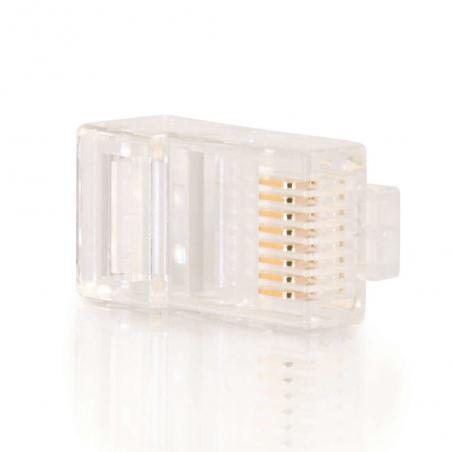 C2G 88123 conector RJ-45 Blanco - Imagen 3