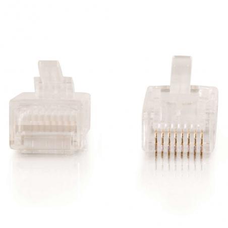 C2G 88123 conector RJ-45 Blanco - Imagen 4