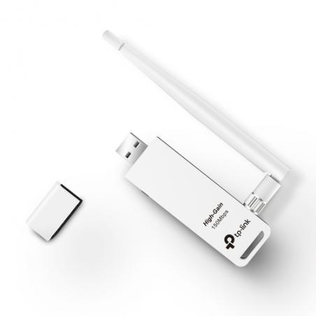 TP-LINK TL-WN722N adaptador y tarjeta de red WLAN 150 Mbit/s - Imagen 4