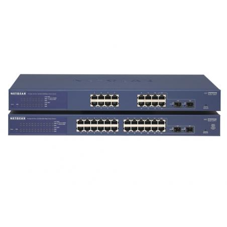 Netgear GS716T Gestionado Gigabit Ethernet (10/100/1000) Negro - Imagen 6